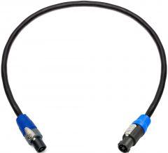 Sescom NSP4-NSP2-150 Neutrik 4-Pole speakON to 2-Pole speakON Speaker Cable- 150 Foot