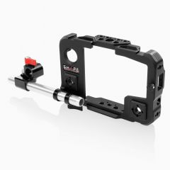 Shape Cage for Atomos Shinobi monitor with 15 mm LWS swivel rod clamp - OBIROD