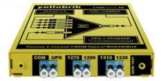 Lynx Yellobrik 4 Chan Fiber CWDM MUX w/ LC connect (1270nm - 1330nm)