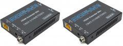 Ocean Matrix OMX-01HMET0003 01HMET0003 Extender Set- 4K HDMI 2.0 Over Single CAT6/6a/7 with EDID / PoC / IR - 197 Feet