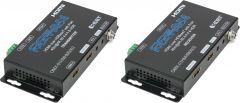 Ocean Matrix OMX-01HMHM0002 01HMHM0002 HDBaseT 4K HDMI Extender Set with Two-Way IR - RS232 - Two-Way PoH