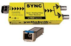 Lynx Yellobrik Analog Sync / Video Fiber Optic Rcv - SC Cnct- ORX-1702