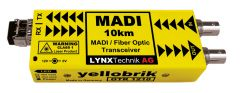Lynx Yellobrik MADI Coax to MADI Transceiver - Multimode - LC connect