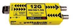 Lynx Yellobrik OTR-1410 12G / 6G / 3G / 1.5G SDI / Fiber Transceiver