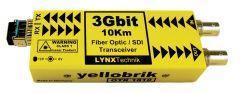 LYNX Yellobrik SD/HD/3G – SDI/Fiber Transceiver Multimode LC connect
