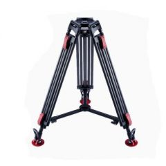 Ozen 100CF2HD 100mm 2-Stage Heavy-Duty Tripod