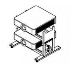 Sony PAM650DS Double Stack Frame for VPL-F65 series