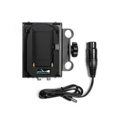 Indipro Tools PAS14B4K Dual Sony L-Series Power Adapter to Blackmagic 4k Camera w/ 1/4-20 Insert