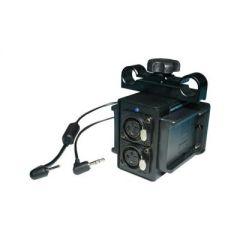 Indipro Tools PASONYBMP Dual L- Series Power Grid & XLR Audio Box for Blackmagic Pocket Cinema Camera (15mm Rod Bracket)
