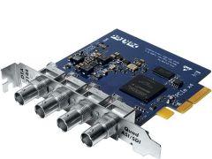 DekTec DTA-2144B Quad ASI/SD-SDI input/output for PCIe