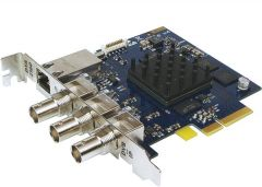 DekTec DTA-2160 GigE & 3x ASI input/output ports for PCIe