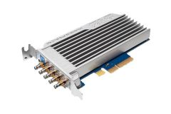DekTec DTA-2174B-SLP Quad 3G-SDI/ASI ports (1x12G) for PCIe with StreamXpress, StreamXpert Lite