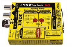Lynx Yellobrik 3 GBit Analog Audio Embedder / Deembdder – PDM-1383