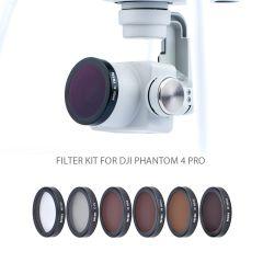 NiSi Filter kit for DJI Phantom 4 Pro (6 Pack) - NID-PHTM4-KIT