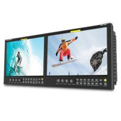 "Postium PRM-102F Dual 10"" 3G/HD/SD-SDI & HDMI LCD Rackmount..."