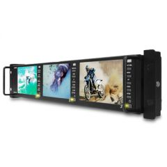 "Postium PRM-483A Triple 4.8"" HD/SD-SDI LCD 2RU Rackmount..."