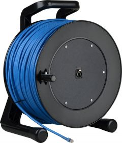 Laird Digital Cinema PROREEL-CAT6-300 Laird  ProReel Series Shielded Category 6 Integrated Cable Reel w/ Built-In RJ45 Jack in Hub - 300 Foot