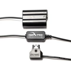 "Indipro Tools PTEL15 D-Tap Cable To Nikon EN-EL15 Type Dummy Battery,  Regulated ""20 inch"""