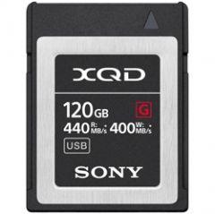 Sony QDG120F/J 120GB XQD Memory Card G Series 440MB/s