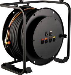 Laird Digital Cinema RA4V2-HD250PL Laird High Definition Broadcast AV Reel w/ Connectorized Hub - 250 Foot
