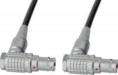 Laird Digital Cinema RD1-COM10-02 Laird  RS422 Command Cable - Lemo RA 10-Pin to RA 10-Pin - 2 Foot