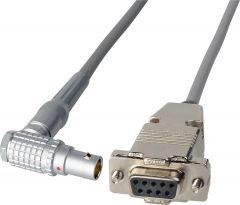 Laird Digital Cinema RD1-COM11-18IN Laird  RS422 Command Cable - Lemo RA 10-Pin to DB9 Female - 18 Inch