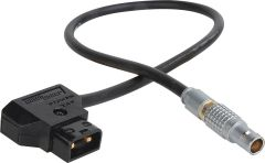 Laird Digital Cinema RD1-PWR20-05 Laird  Red One 12V DC Power Cable Lemo 2B 6-Pin Male to Anton Bauer Power Tap - 5 Foot
