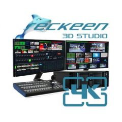Reckeen 3D Studio 4K, 12G-SDI Virtual Studio Workstation