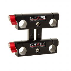 Shape Double sliding 15 mm rod bloc - RODSUP3