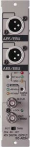 Roland 4 channel AES/EBU digital output card with 2 XLR connections SO-AES4