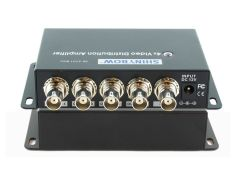 Shinbow SB-3701BNC 1 To 4 Video  (Composite) RCA Distribution Amplifier