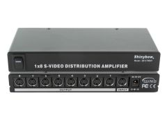 Shinbow SB-3706SV 1 To 8 S-Video  (Y/C)  Distribution Amplifier