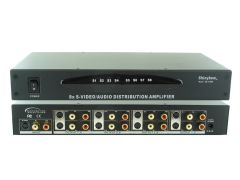 Shinbow SB-3709M 1 To 8 S-Video/Stereo Audio(R+L) D/A  Includes Rack Mount Bracket