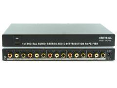 Shinbow SB-3710 1x4  Digital/Analog Audio Distribution Amplifier Splitter