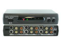 Shinybow SB-5425 4x2 Auto S-Video/Audio Switcher