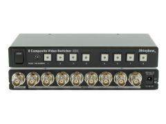 Shinybow SB-5440BNC 8x1 Composite Video Selector Switcher w/ IR...