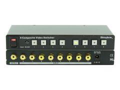 Shinbow SB-5440RCA 8x1  Composite Video Switcher W/Remote