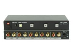 Shinybow SB-5440RL 4x1 Stereo Audio Selector Switcher w/ IR...