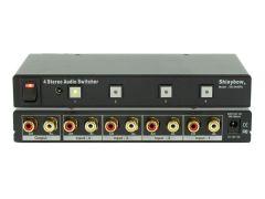 Shinbow SB-5440RL 4x1  Stereo Audio Switcher W/Remote