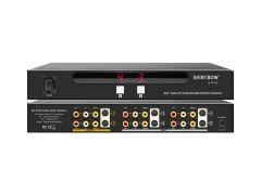 Shinbow SB-5450M 4x2 S-Video/Composite Video/Analog Audio Matrix Switcher Metal Case W/IR Remote