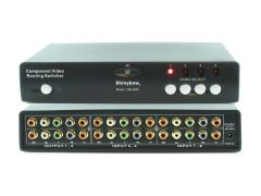 Shinybow SB-5460 4x2 Component Routing Switcher (IR) - 250Mhz