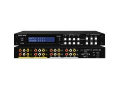 Shinybow SB-5544LCM 4x4 Composite Video/Stereo Audio Matrix...