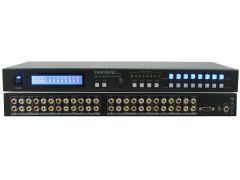 Shinbow SB-5548LCM 8x8  Composite Video + Analog Audio Matrix Switch