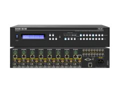 Shinbow SB-5688CK 8:HDMI Inputs X 8:HDMI & 8:Hdbaset Outputs; Udh 4x2x Matrix Routing Switch W/Edid Management/Learning