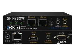Shinbow SB-6320R HDMI Hdbaset Receiver Up To 330 Feet (100M) (Dual Lan, 2-Way Ir, Rs-232, HDMI & Audio For Dvi)