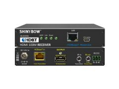 Shinybow SB-6335R4 4-Play HDBaseT Receiver up to 330 ft (100M)...