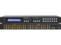 Shinybow SB-8804LCM 8x8 Composite Video/Digital Audio/Analog...