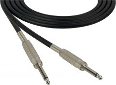 Sescom SC100SS   Audio Cable Canare Star-Quad 1/4 Inch TS Male to 1/4 Inch TS Male Black - 100 Foot