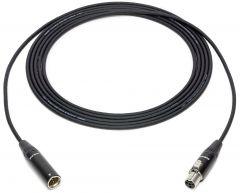 Sescom SC100T4TJ4 4-Pin Mini XLR Male to Female Sub-miniature Audio Extension Cable - 100 Foot