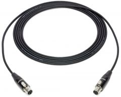 Sescom SC100TJ4TJ4 4-Pin Mini XLR Female to Female Sub-miniature Audio Extension Cable - 100 Foot